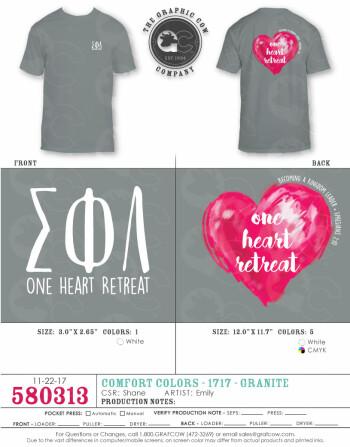 One Heart Shirt